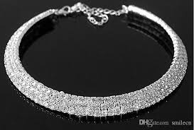 silver plated necklace images 2018 crystal bridal jewelry set 925 silver plated necklace jpg