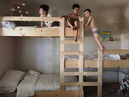 Building Plans For Triple Bunk Beds by Best 25 Triple Bunk Beds Ideas On Pinterest Triple Bunk 3 Bunk