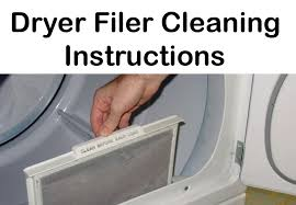 Clothes Dryer Filter Dryer Vent Cleaning Services M Laundering