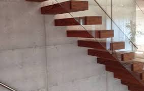 Cement Stairs Design Floating Stairs And Self Supporting Staircases Sillerstairs