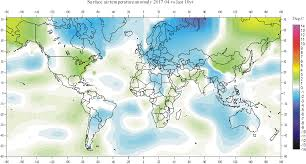 Map Showing Equator Climate4you Globaltemperatures