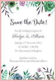 invitation for wedding wedding e invitation amulette jewelry