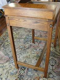 Wooden Drafting Tables by Oak Artist Drawing Drafting Table Or Desk With Adjustable Top