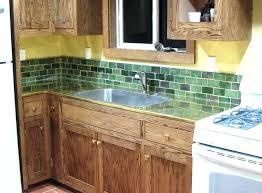 green tile kitchen backsplash fabulous tile backsplash ideas green subway green tile backsplash