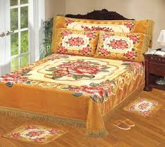 bed sheet quality 100 polyester korean raschel quality embossed blanket bed sheet