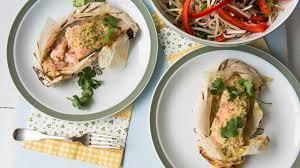 cuisine du poisson papillotes de poisson à l asiatique cuisine futée parents pressés