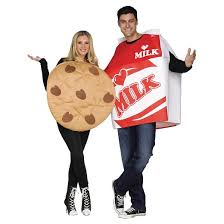 couples costume cookies milk couples costumes includes 2 costumes one