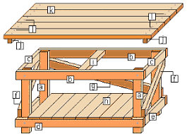 Plans To Make A Wooden Workbench by How To Make A Workbench Buildeazy Diy