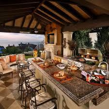 outdoor patio kitchen ideas 30 fascinating outdoor kitchens outdoor photos patios and kitchens