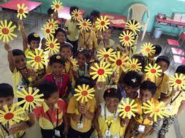 yellow color day celebration 2016 sathyam international school