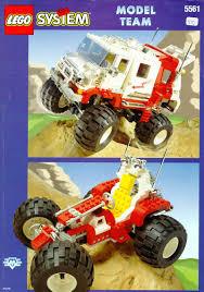 bigfoot monster truck model lego big foot 4x4 instructions 5561 model team