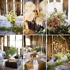 interior design simple rustic themed wedding decorations decor