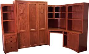 Queen Murphy Bed Kit With Desk Welcome To Accent Woodworking Inc