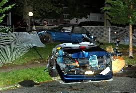 crash in queens kills two men as one passenger emerges unharmed