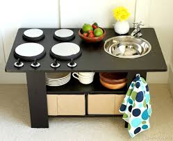 Wayfair Kitchen Table by Coffee Table Turned Play Kitchen