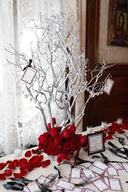 Red And Silver Wedding Creative Of Red And Silver Wedding Centerpieces 1000 Images About