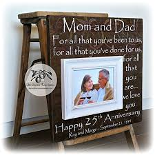 25th anniversary gifts for parents 25th anniversary gifts for parents silver anniversary