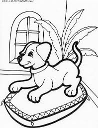 puppy coloring pages bestofcoloring