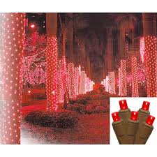 2 x 8 led net style tree trunk wrap lights brown
