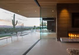 fascinating rammed earth home piercing the deserts of arizona