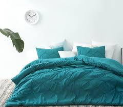 Ocean Duvet Cover Textured Waves Twin Xl Comforter Supersoft Ocean Depths Teal
