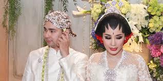 wedding dress nagita slavina cobek kado spesial dari raffi ahmad untuk nagita slavina