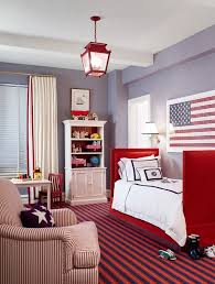 Material Girls Blog Red White And Blue Interior Design