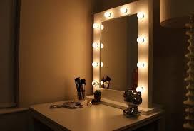 Bedroom Mirror Lights Vanity Mirror With Lights For Bedroom Myfavoriteheadache
