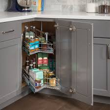Kitchen Cabinet Corner Solutions Cabinet Corner Solutions Easy 360 Susan All Cabinet Parts