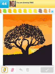 tree drawings how to draw tree in draw something the best draw