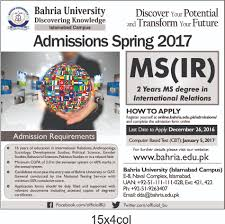 M S University by Ir Ad U2013 Bahria University