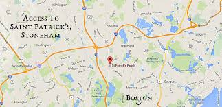 Map Of Boston And Surrounding Area by Our History