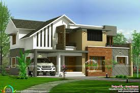2450 sq ft home modern style kerala home design and floor plans