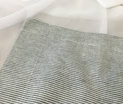 Striped Linen Curtains Custom Curtains Linen Curtain Panels White Grey Cream Pink