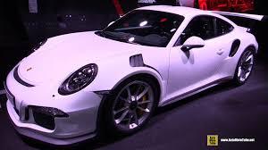 2016 porsche 911 gt3 rs exterior and interior walkaround 2015