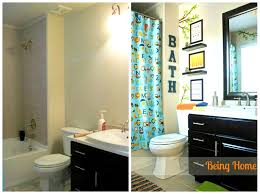 bathroom scenic bathroom decor ideas for kids little boys