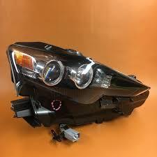 lexus is 250 xenon headlights lexus is250 headlight right passenger 2014 2015 is350