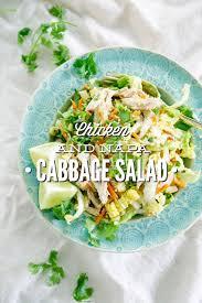 napa salad chicken and napa cabbage salad live simply
