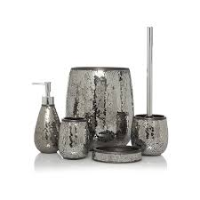 Asda Garden Furniture Black Mosaic Bath Accessories Range Bathroom Accessories