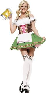Beer Maid Wench Costume Oktoberfest Couple Gretchen German Fancy by Gretchen Oktoberfest Beer Maid Costume Party City Canada