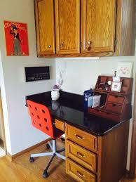 kitchen desk update albion gould
