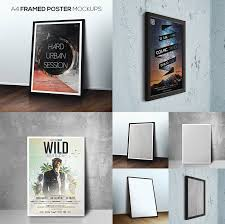 15 photoshop poster mockup templates for your creative designs