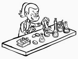 scientist coloring page inofations for your design