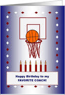 birthday cards for coach from greeting card universe