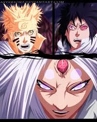 sasuke vs sasuke vs kaguya by asterion7 by asterion7 on deviantart
