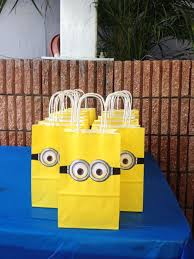 minion gift bags 20 minions birthday party ideas home design and interior