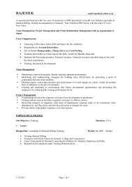 Sample Resume Objectives For Team Leader by Sample Resume For Team Leader In Bpo Free Resume Example And
