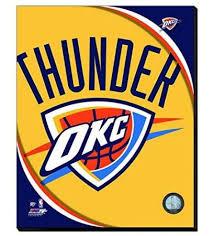 Okc Thunder Home Decor Oklahoma City Thunder Merchandise Collectibles Memorabilia Photos