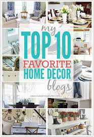 top decor blogs my top 10 favorite home decor blogs passionate penny pincher