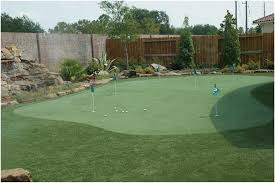 artificial turf for putting green support in image with cool diy